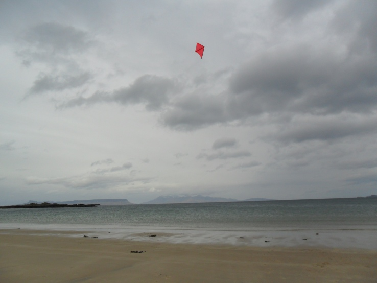 kite fying