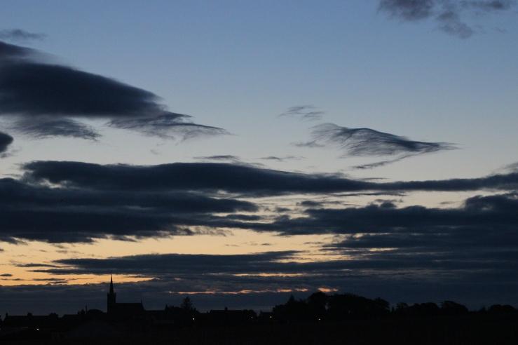 sunrise over stcyrus aberdeenshire