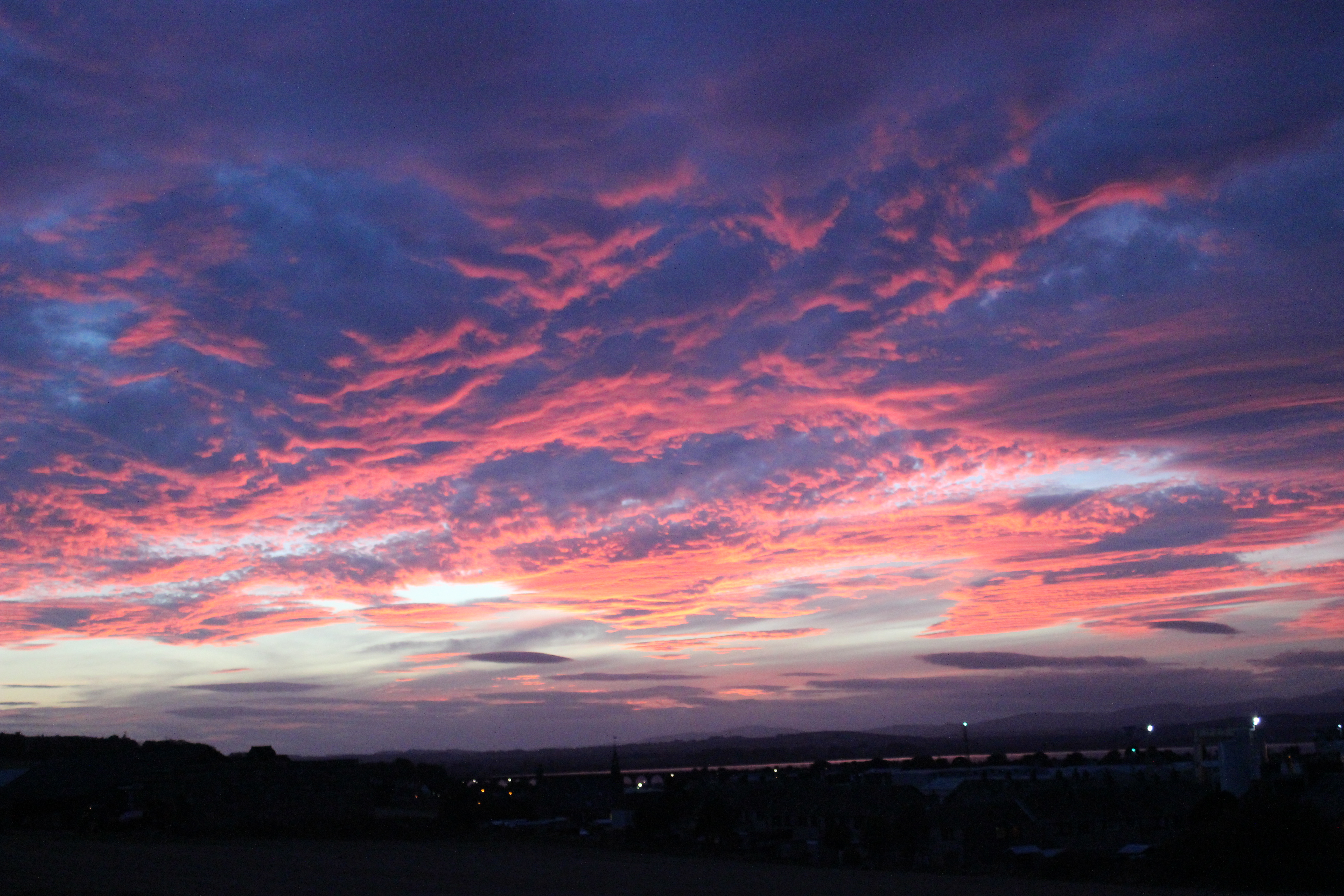 night sky clouds tumblr